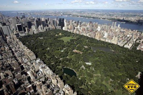 Топ 10 фотографий Нью-Йорка с высоты