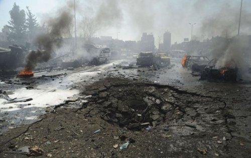 Война оставила разрушенные города Сирии