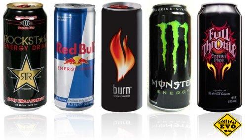 Употребление энергетиков приводит к кофеиновому отравлению