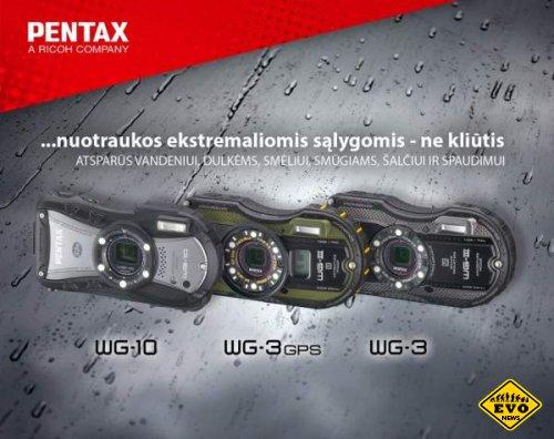 Pentax анонсировали новые защищенные камеры