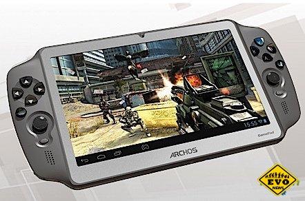 Задержавшийся игровой планшет Archos Gamepad поступил в продажу