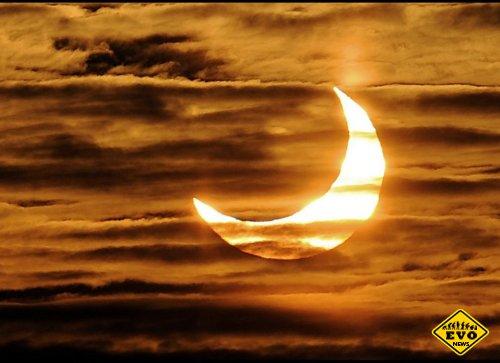 Самые потрясающие фото солнечного затмения (Фото)