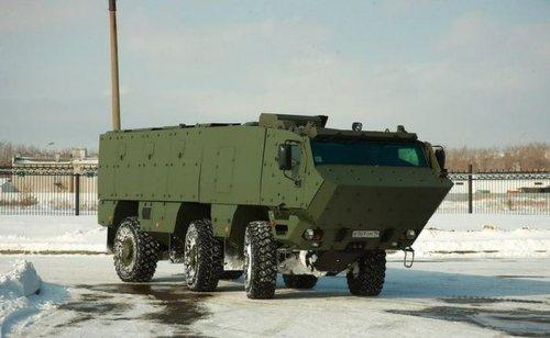6-колесный бронеавтомобиль КамАЗ-63969