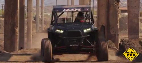 RJ Anderson XP1K / Джимхана на гоночном багги (Видео)
