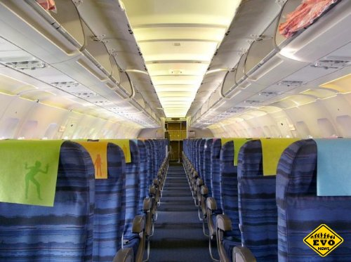 Самое комфортное место в салоне самолета