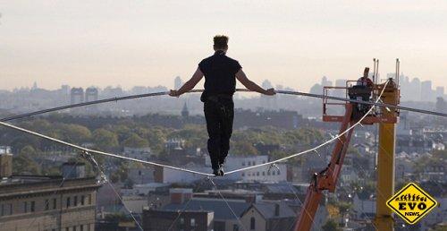 Новый трюк «Летающего Валленды»