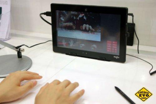 Fujitsu представила невидимую клавиатуру