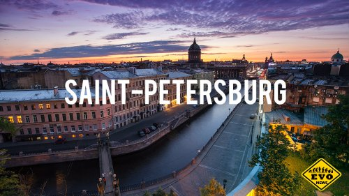 Saint-Petersburg Timelapse - красивое видео о Питере