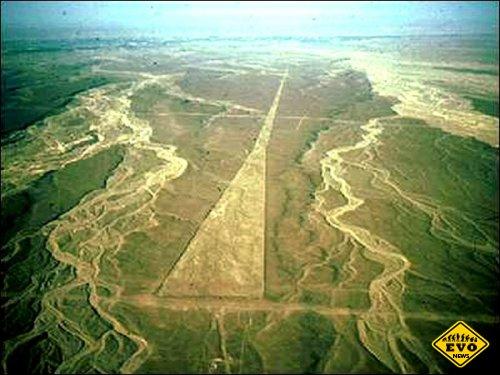 Перуанская пустыня Наска загадала новую загадку