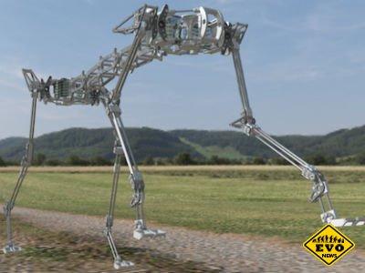 Pneupard - рoбота-гепард от разработчиков Andre Rosendo