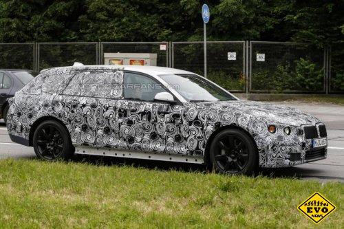 Новое поколение BMW 5-series получит трехцилиндровый мотор