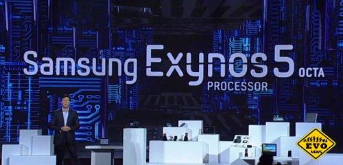 Samsung показала демо-планшет на Exynos 5 Octa