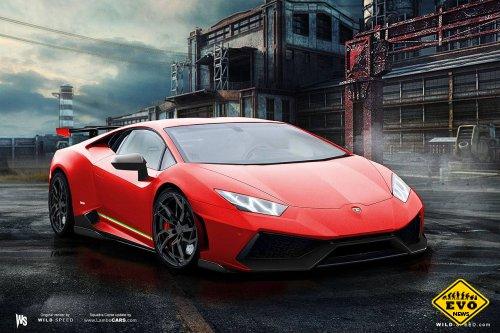 Huracan - новое поколение автомобилей Lamborghini