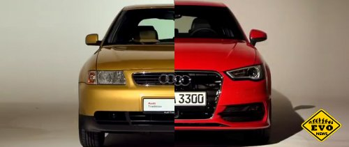 Эволюция Audi 100 к Audi A6 начиная с 1968 по 2011