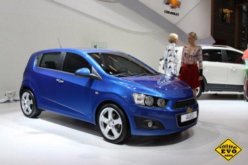 Chevrolet представляет новое поколение модели Aveo