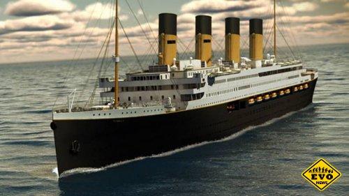 В Китае делают аттракцион-копию Титаника
