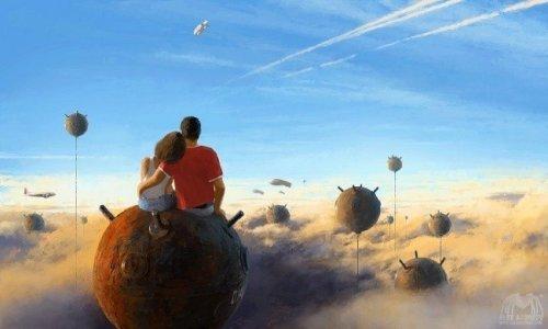Параллельные миры художника Алекса Андреева