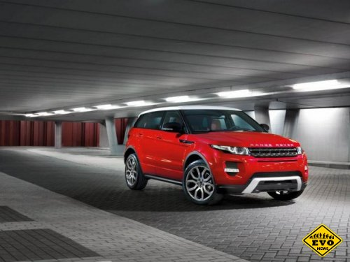 Обновленное поколение Range-Rover Evoque