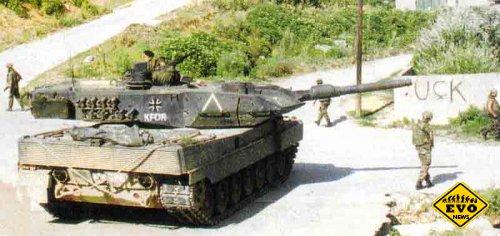 Немецкий танк Танк «Леопард-2А-5»