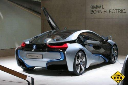 В июне выйдет в продажу гибридный BMW i8
