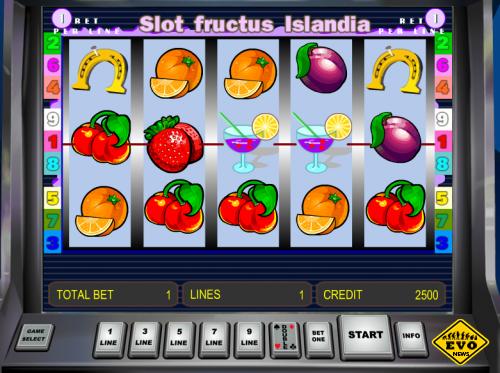 Игровой автомат Slot Fructus Islandia