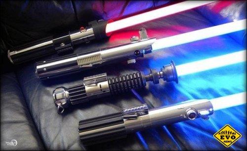 Световые мечи из