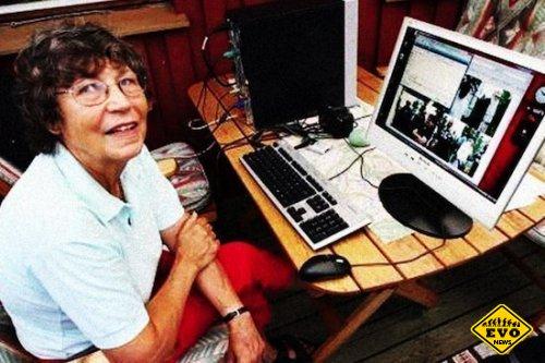 У 75-летней женщины из Швеции самый быстрый интернет в мире!