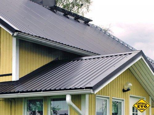 Как сделать крашенный профнастил и рассчитать его расход на крышу