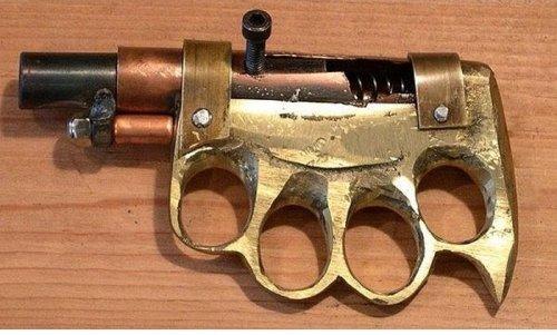 Самодельное оружие преступного мира