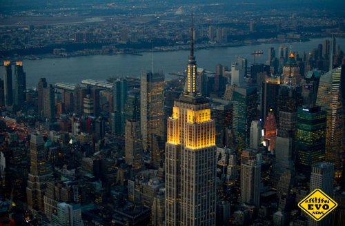 Новое архитектурное чудо в Нью-Йорке