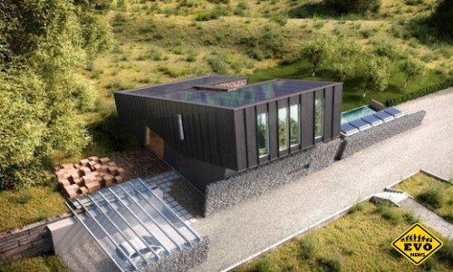 В Норвегии построили дом с отрицательным потреблением энергии