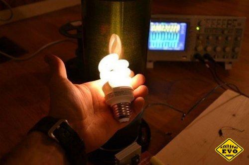 Технология беспроводной передачи электричества