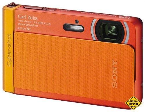Водонепроницаемый цифровой фотоаппарат Sony CyberShot TX30
