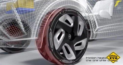 Новые покрышки Goodyear обеспечат электромобили энергией