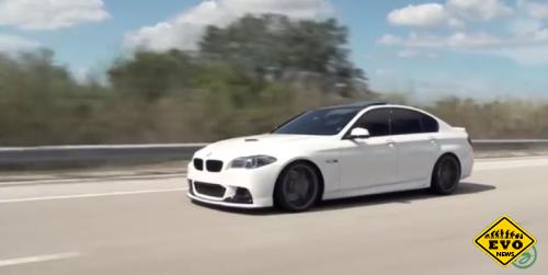 Красотка BMW M5 (Видео)
