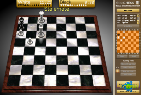 Flash Chess 3 - Шахматы флеш игра онлайн