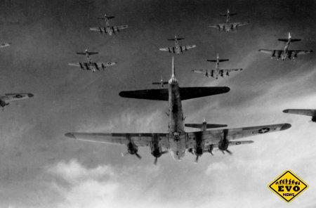 Как пилоты Люфтваффе сбивали Боинг бомбами