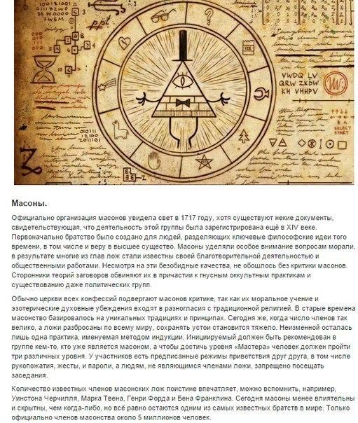 10 самых могущественных тайных обществ в истории