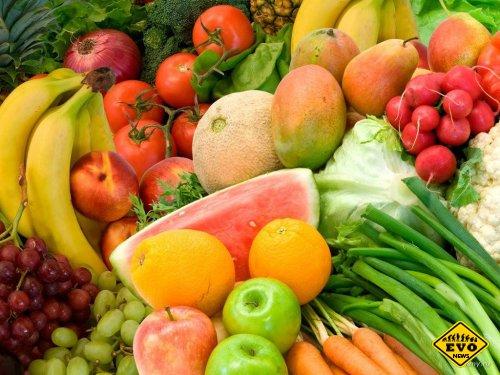 Фрукты и овощи под микроскопом - микрофотографии