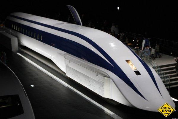 Японский маглев установил новый рекорд скорости
