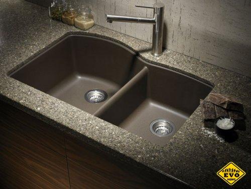 Кухонная раковина из камня - советы по выбору