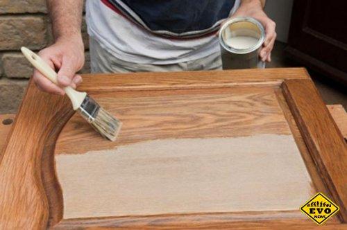 Как покрасить мебель из дерева