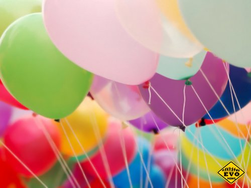 Яркость праздника с воздушными шарами