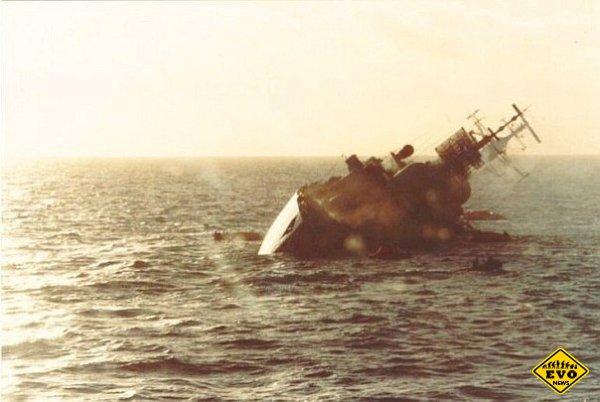 Немецкий и английский эсминец - реальная история