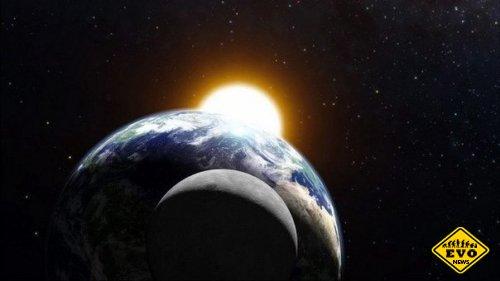 Почему луна одного размера с солнце?