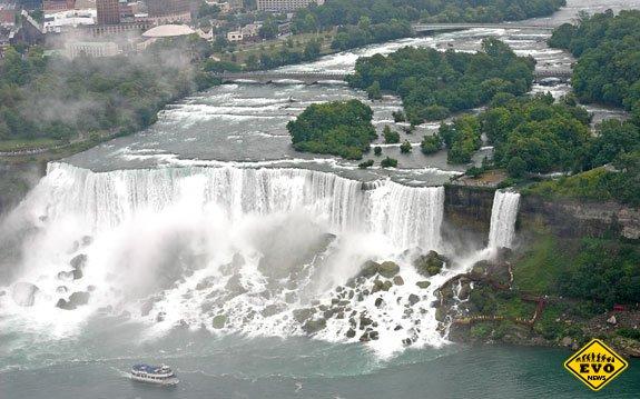 Ниагарский водопад и его масштабы (Красивые фото)