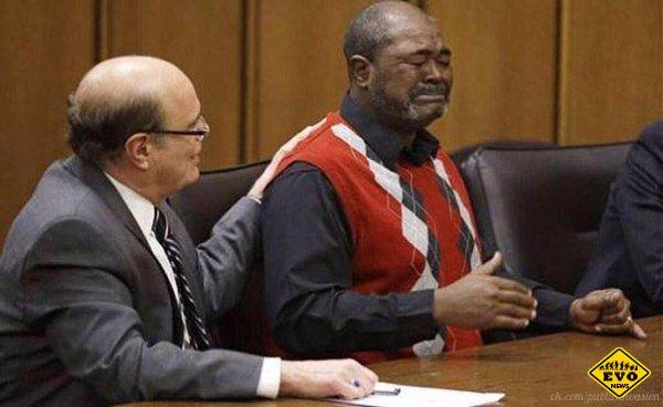 Эмоции человека, отсидевшего 27 лет в тюрьме и в итоге оправданного