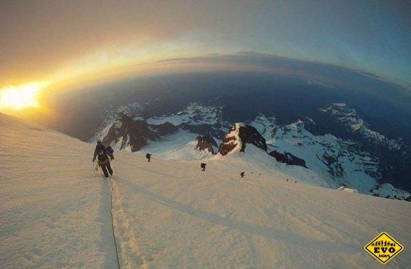 В стратосферу пешком - Вид с высоты 8 тысяч метров