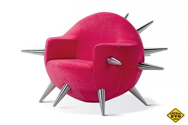 Кресло кровать. Удобная мебель в интерьере