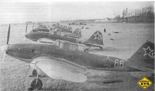 Штурмовики Ил-2, прозванные немцами